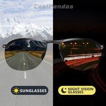 2020 Brand Photochromic Men Sunglasses Polarized Glasses Day Night Vision Driving Sun Glasses For Male Oculos De Sol Masculino