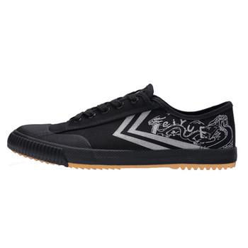 DafuFeiyue nowa wysoka czarna buty Kungfu Retro sztuki walki buty kobiety mężczyźni trampki tanie i dobre opinie Unisex CN (pochodzenie) RUBBER Sznurowane Nić Podłoga PCV Początkujący Dobrze pasuje do rozmiaru wybierz swój normalny rozmiar