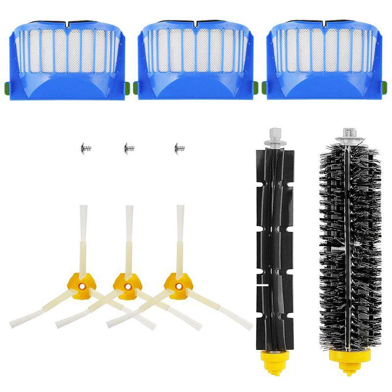 Replacement Brush Kit Maintenance Kit For Roomba 600 Series Cleaning Kit Brush Filter