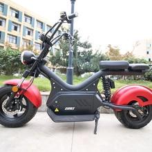 EEC COC zatwierdzone 2000W skutery elektryczne wysokiej jakości dorosłych Citycoco duży skuter z 60V 20AH baterii motocykl elektryczny