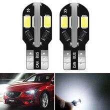 2pcs 12V W5W T10 LED Auto Lamp Interior Parking Light for Mazda 6 5 3 Axela CX-5 CX5 2 Spoilers MX5 CX 5 323 CX-7 GH CX3 CX7 MPV guang dian 4x led canbus for ma z da 2 3 6 323 5 626 axela cx 5 mx5 demio cx 7 rx8 t10 w5w 2835 chip clearance lights width lamp