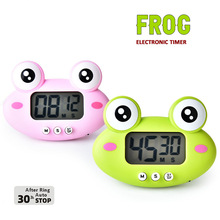 Digital Timer Gadget Cooking-Study Kitchen Cute Work-Timer-Reminder Frogs 1-99-Minutes