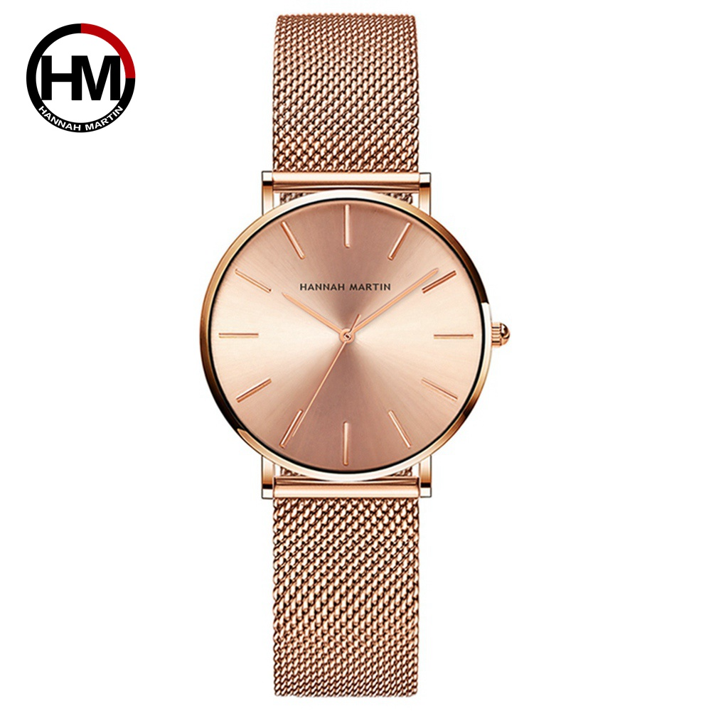 HM Watch Women Watches Ultra-Thin Ladies Dress Wristwatch Female Clock Fashion Luxury Famous Brand Reloj Mujer Relogio Feminino