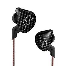 CCA KZ ZST X auriculares con controlador Dual, auriculares dinámicos y desmontables con armadura, monitores de Cable deportivo, aislamiento de ruido para música Hifi