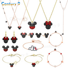 Fashion jewelry 2020swa1:1 fashion jewelry high quality products exquisite mouse Pendant Necklace Charm series wholesale