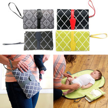 Travel Baby Nappy Changing Pad Portable Station Waterproof Foldable Infant Diaper Changing Mat