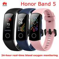 "Huawei Honor Band 4 5 Smart Bracelet 0.95"" OLED Touch Screen Waterproof Fitness Tracker bracelet Heart Rate Sleep Monitor"