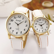 Hot Sale Classic Lovers Watches Men Women Casual Leather Str