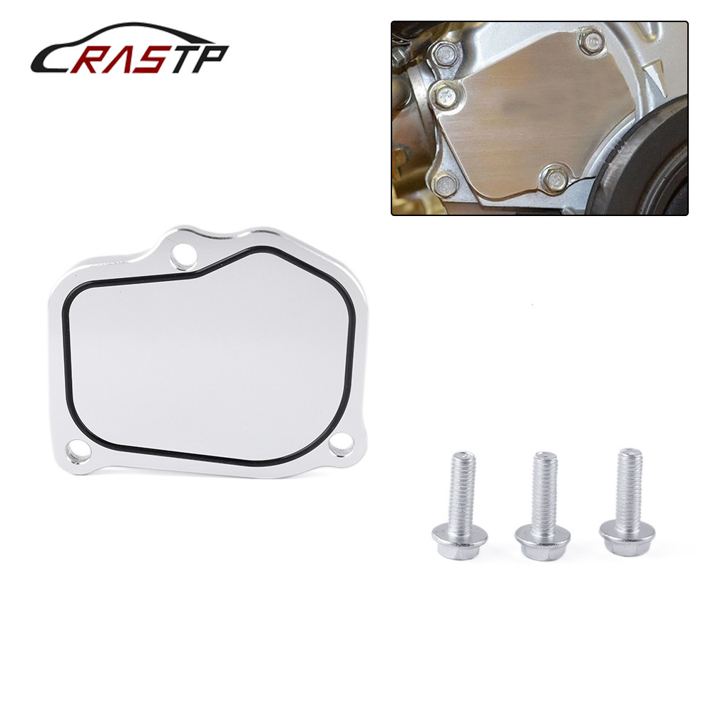 New Arrived Car K-Series Billet Timing Chain Tensioner Cover Plate For Honda Acura K20 K24 RSX Civic TSX KTD-TEN-COV RS-TC015