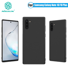 Mỏng Slim Dành Cho Samsung Galaxy Samsung Galaxy Note 10 Plus Ốp Lưng Nillkin Sợi Tổng Hợp Miếng Dán Mặt Sau Vân Carbon Nillkin Dành Cho Samsung Galaxy Note 10 Ốp Lưng