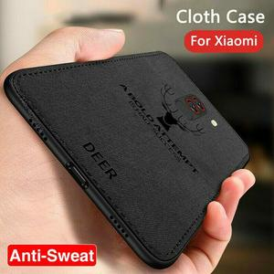 Shockproof Fabric Case for Xiaomi Redmi Note 8T 8 7 Pro Classic Cloth Matte Skin Soft Back Cover for Redmi 8 8A 7 7A Phone Case(China)