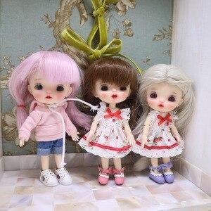 Image 3 - NEW Sugar dolls Ob11 dolls 1/8 customization BJD dolls DIY makeup doll and head OB doll