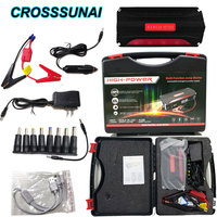 68800mAh Super Power Car Jump Starter Power Bank 600A Portable Car Battery Booster Charger 12V Starting Device Petrol Diesel