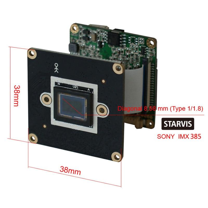 CCDCAM 2MP H.265 Star Light Camera 1/2 tums Sony CMOS IMX385 sensor 2 - Säkerhet och skydd - Foto 2