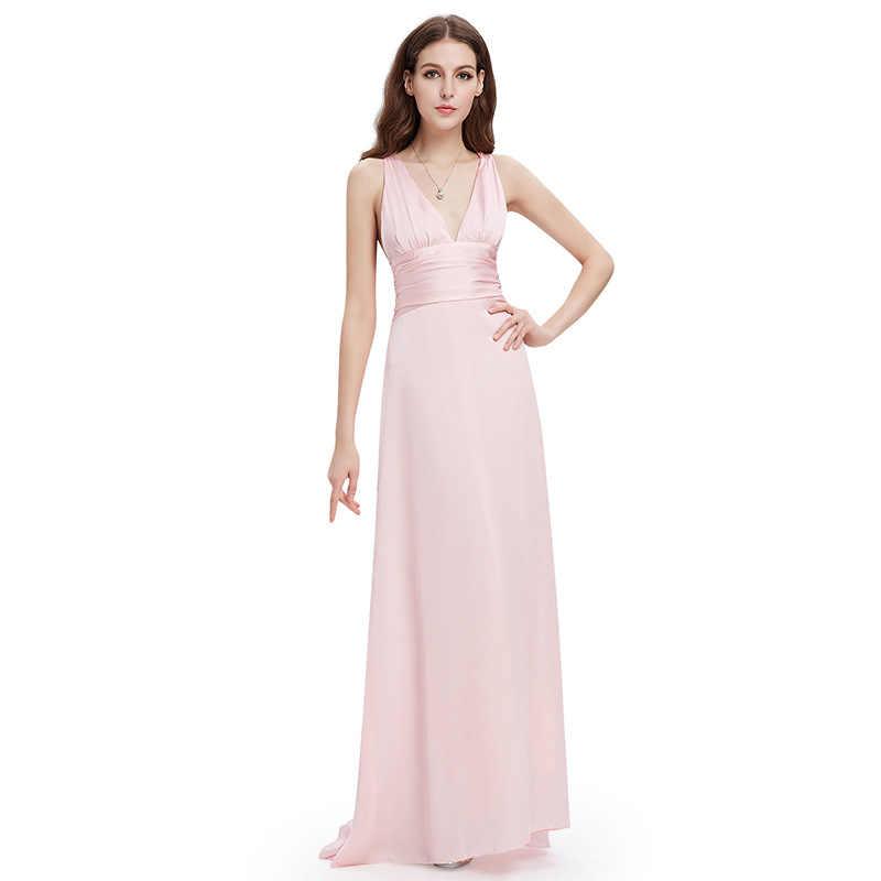 Vestidos Elegantes Para Dama De Honor Sexy Cuello Sin Espalda Vestido De Invitados De Boda Vestidos Largos Para Fiesta De Boda Con Tren De Barrido