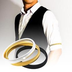 Fashion Wristband Ladies Shirt Sleeve Holders Metal Arm Bands Hold Ups Garter Shroud Ring Men Bracelet Elastic Hoop Armband