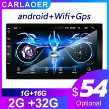 2 din car radio gps Multimedia android 2din coche reproductor de video wifi GPS para TOYOTA Nissan Toyota Hyundai Polo Volkswagen kia Ford(China)