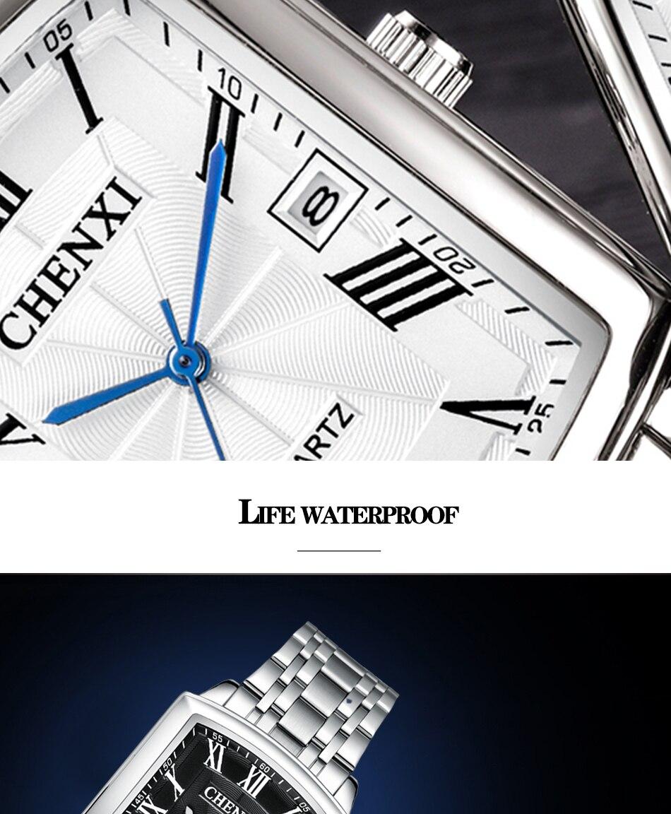 à prova dwaterproof água aço inoxidável relógios