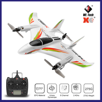 WLtoys XK X450 2.4G 6CH 3D/6G RC Airplane Brushless Motor Vertical Take off LED Light RC Glider Fixed Wing RC Plane Aircraft RTF