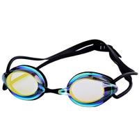 Jogo de corrida óculos de natação impermeável anti nevoeiro óculos de natação galvanizados óculos coloridos Óculos de segurança     -