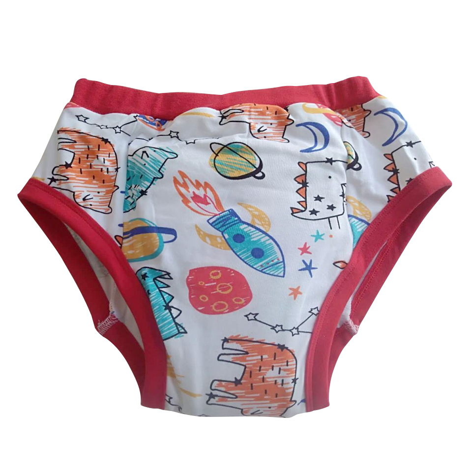 Adult printed cat cat small rocket training pants / ABDL training pants / washable adult training pants / adult baby boy diapers