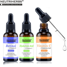 Neutriherbs Serum Kit Containing Vitamin C Serum, Hyaluronic Acid Retinol Whitening, Anti aging, Clogs Pore 3*30ml