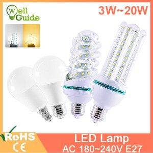 led lamp light E27 E14 led bul