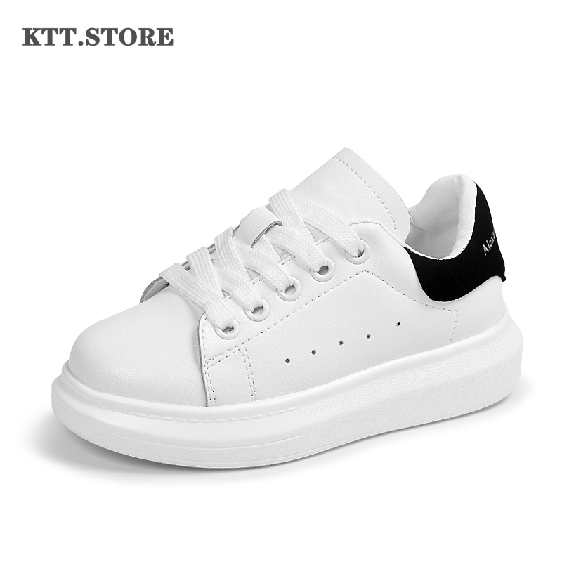 Sneakers shoes for Girls Autumn boys White Sneaker Children casual Shoes Teenager Sport Shoes Casual Leather Sneaker In Girls