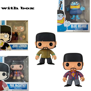 NEW! POP The Beatles Yellow Submarine with box Vinyl Action Figures Model Toys for Children gift