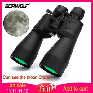 Image 1 - Borwolf 10 380X100 yüksek büyütme uzun menzilli zoom 10 60 kez avcılık teleskop dürbün HD profesyonel Zoom