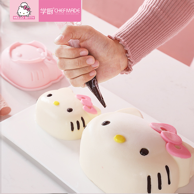 Hello Kitty Silicone Mold Bakeware Mould Silicone 4