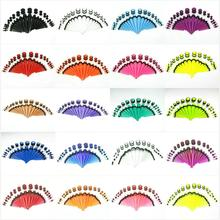 20 видов цветов Новые 36 шт./компл. пакет Лот ухо с коническим отверстием производства зажигания Растяжка наборы туннель штанги для уха носилки расширитель тоннелей, бижутерия для пирсинга