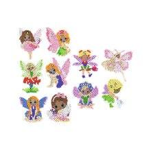 10 шт алмазные наклейки для рисования мини узор алмазная вышивка