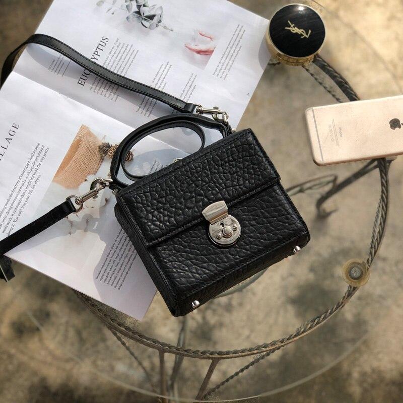 2019 autumn winters inclined shoulder bag joker elegant small handbag(China)