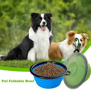 Portable Puppy Bowl Feeder with Lid Carry-On  2