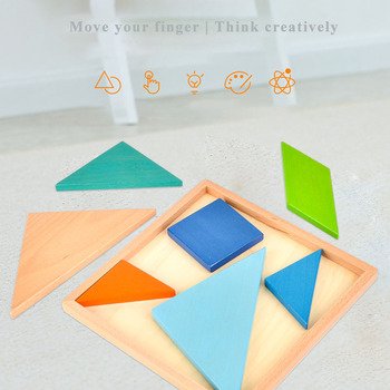 this is one of the wooden tangram puzzles they come in various sizes