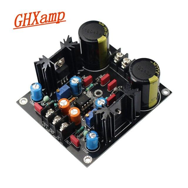 GHXAMP LM317 LM337 مرشح تصحيح مؤازر لوحة إمداد الطاقة تيار متردد إلى تيار مستمر جديد
