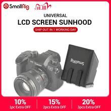 SmallRig ניילון LCD מסך Sunhood שמשיה לdslr מצלמות ומצלמות וידאו עבור Panasonic Lumix GH5 / GH4/G85/g7/GX8 1972