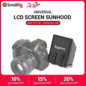 Image 1 - SmallRig ניילון LCD מסך Sunhood שמשיה לdslr מצלמות ומצלמות וידאו עבור Panasonic Lumix GH5 / GH4/G85/g7/GX8 1972