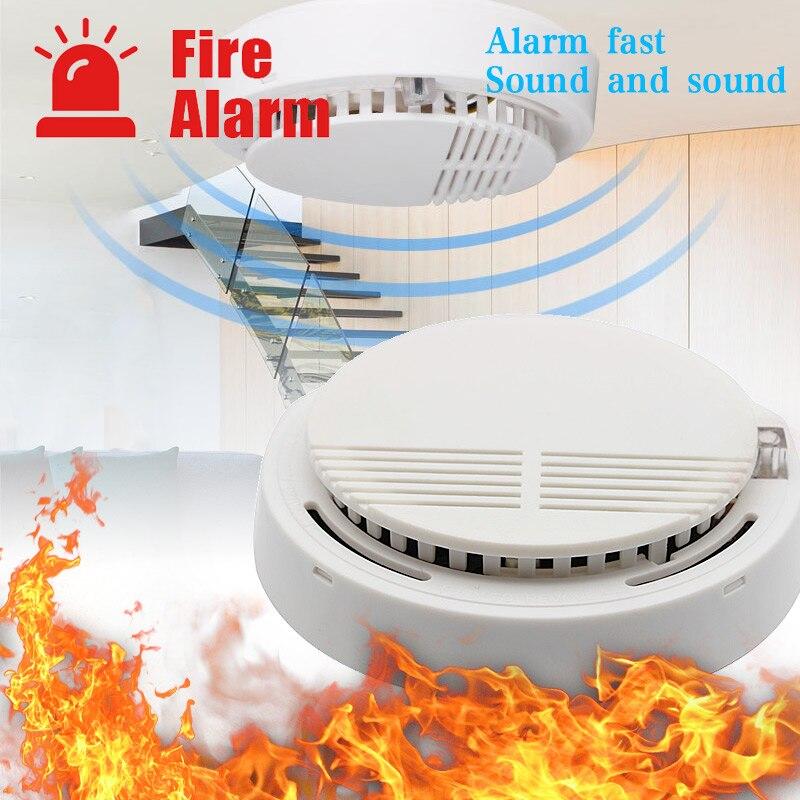 Smoke Detector fire alarm detector Home Security Smoke Alarm Fire Protection for home office Security Equipment Smoke Alarm