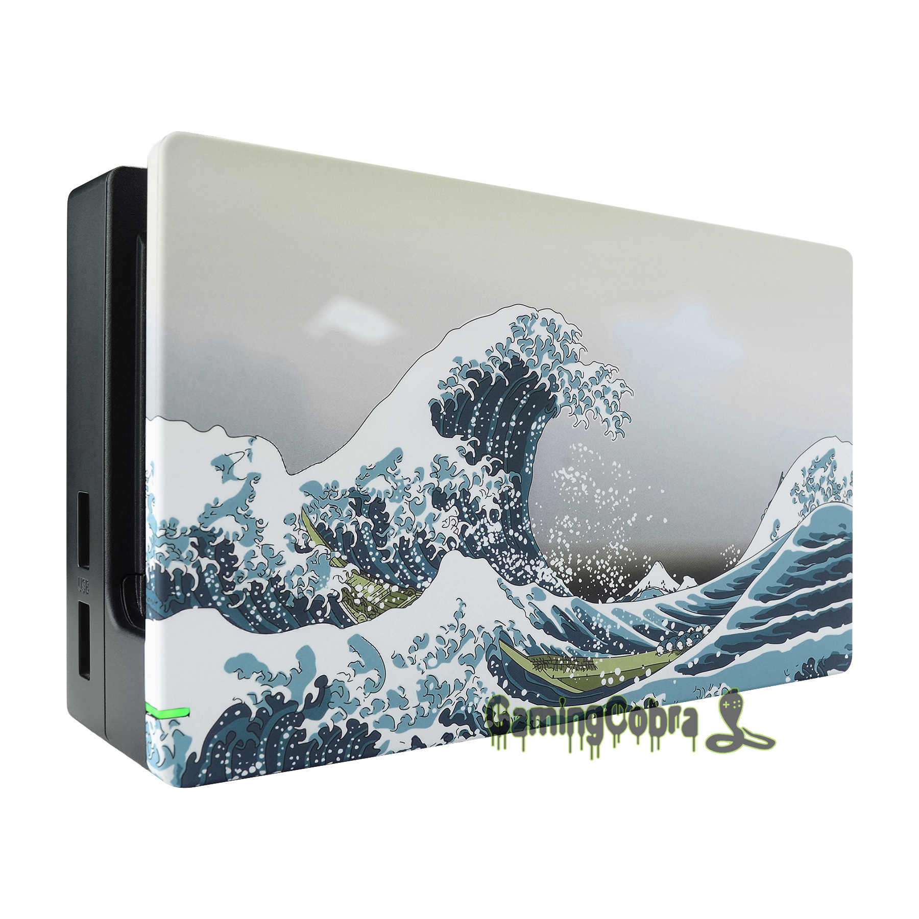 Custom The Great Wave Soft Touch Grip Faceplate Diy Replacement