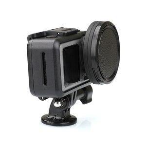 Image 3 - Anneau adaptateur dobjectif en alliage daluminium 52mm filtre UV/CPL Kit de bague dentraînement capuchon dobjectif pour accessoires de connecteur de caméra daction DJI OSMO