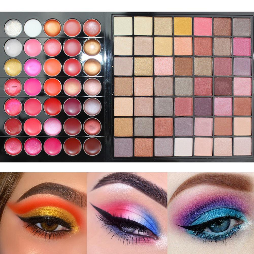 conjunto de maquiagem 177 cores sombra paleta 04