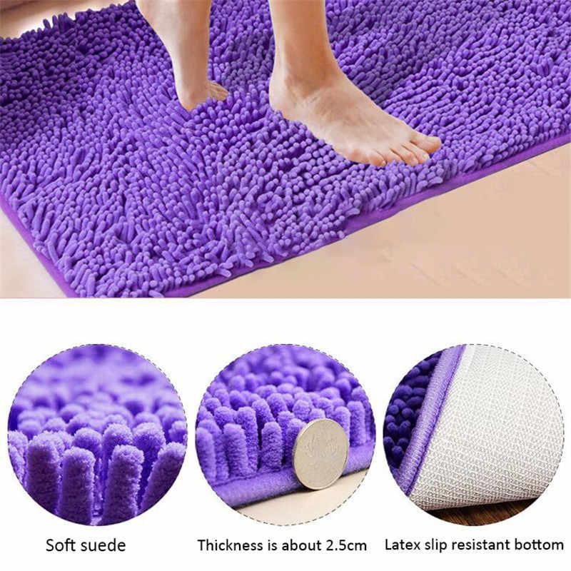 tapis de bain pas cher grande taille epaissir tapis memoire tapis toilette baignoire chambre salon porte salle de bain absorbant pied tapis de sol