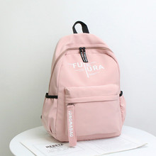Women Hot Nylon Backpack School Bags For Teenagers Girls preppy style student Waterproof Laptop Rucksack Patchwork New