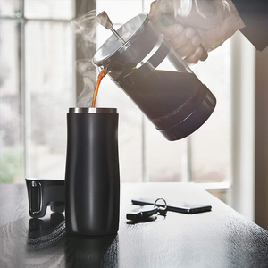 Image 5 - 450ML Thermos Travel Mugs Thermos Bottle Garrafa Termica Thermos Café Cup Tumbler Water Bottles Stainless Steel Mugs Coffee Cups