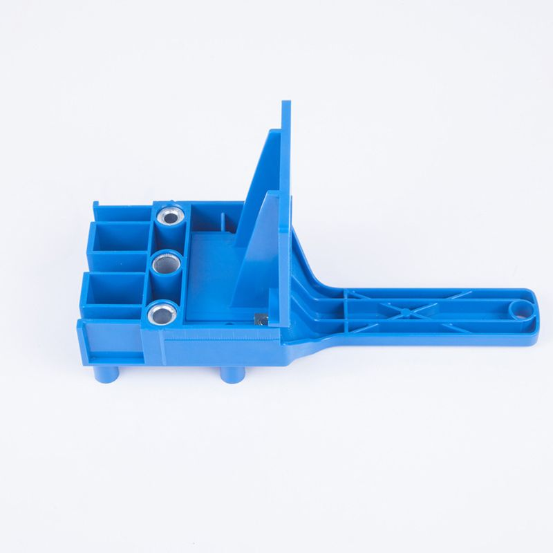 Handheld Woodworking Doweling Jig Drill Guide Wood Dowel Drilling Hole Saw Accessories Template Wood Drilling Dowelling Accessor