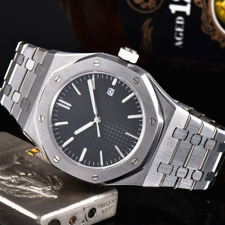 automatic mechanical watch watch men Luminous waterproof date 316L Solid stainless steel 41MM LM3