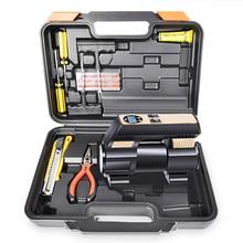 (Tool Box)Car Air Compressor 12V Portable Electric Air Compressor  Air Pump Tire Inflator Pump for Car Motorcycle Bicycle