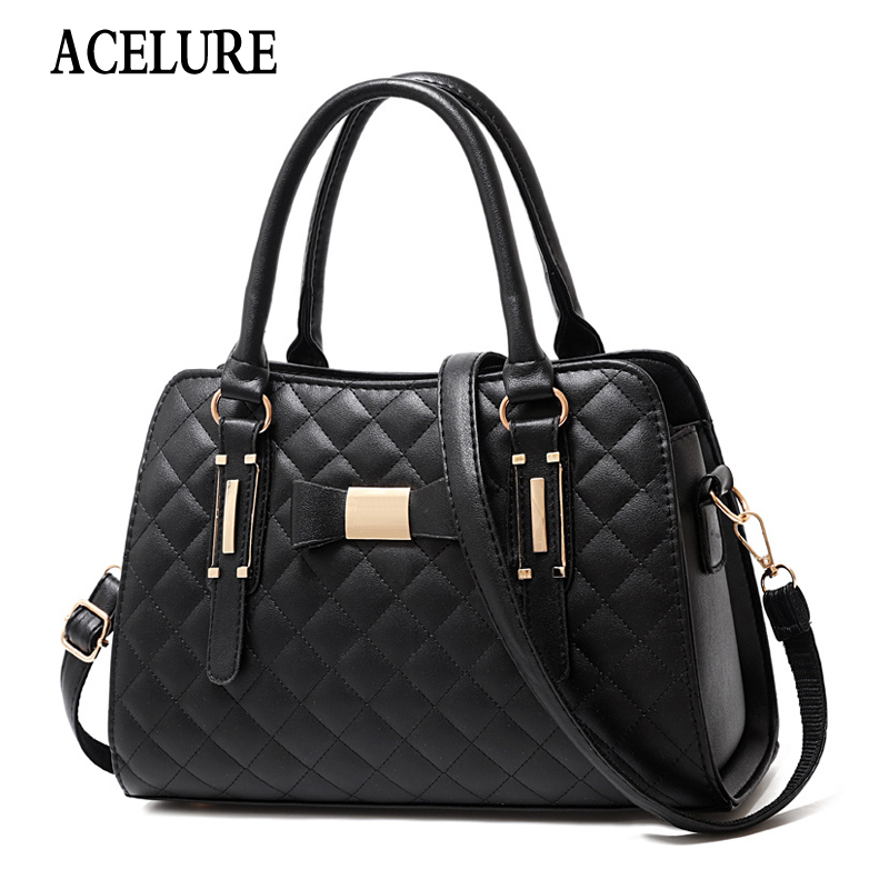 Luxury Handbags Women Bags Designer Famous Brand Shoulder Bags Lattice Crossbody Bags For Women Ladies Messenger Bag ACELURE
